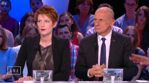 Natacha Polony dans le Grand Journal de Canal Plus - 29/08/14 - 02