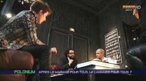 Natacha Polony et Samia Ghali dans Polonium - 12/02/16 - 06