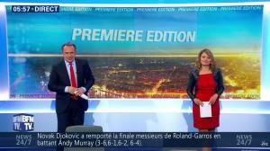 Pascale De La Tour Du Pin dans Première Edition - 06/06/16 - 02