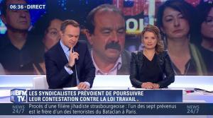 Pascale De La Tour Du Pin dans Première Edition - 30/05/16 - 09