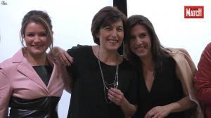 Pascale de la Tour du Pin et Les Filles de BFM TV dans Paris Match - 07/04/16 - 06