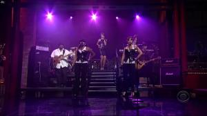 Rihanna dans David Letterman Show - 04/10/07 - 01