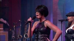 Rihanna dans David Letterman Show - 04/10/07 - 02