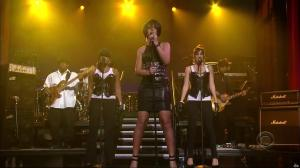 Rihanna dans David Letterman Show - 04/10/07 - 05