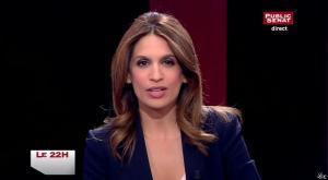 Sonia Mabrouk dans le 22h - 02/04/15 - 01