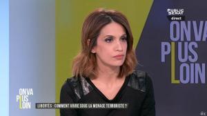 Sonia Mabrouk dans On Va Plus Loin - 13/01/16 - 06
