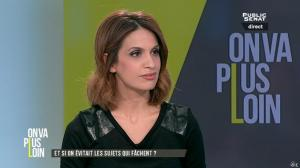 Sonia Mabrouk dans On Va Plus Loin - 13/01/16 - 13