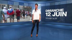 Tatiana Silva à la Météo - 12/06/16 - 01