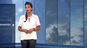 Tatiana Silva à la Météo - 12/06/16 - 04