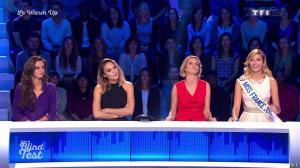 Valérie Bègue et Malika Ménard dans le Grand Blind Test - 19/02/16 - 02