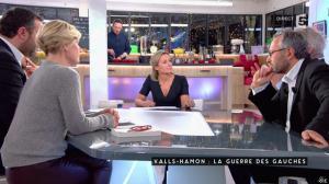 Anne-Elisabeth Lemoine dans C à Vous - 23/01/17 - 01