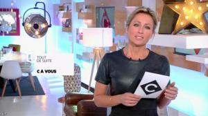 Anne-Sophie Lapix dans C à Vous - 12/01/17 - 02