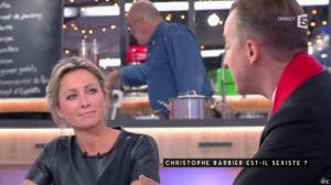 Anne-Sophie Lapix dans C à Vous - 12/01/17 - 15