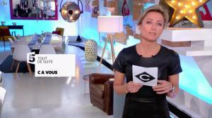 Anne-Sophie Lapix dans C à Vous - 17/01/17 - 02