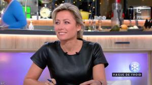 Anne-Sophie Lapix dans C à Vous - 17/01/17 - 11