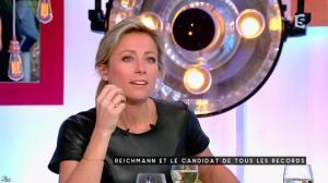 Anne-Sophie Lapix dans C à Vous - 17/01/17 - 16