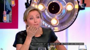 Anne-Sophie Lapix dans C à Vous - 17/01/17 - 17