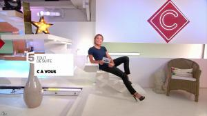 Anne-Sophie Lapix dans C à Vous - 22/06/17 - 03