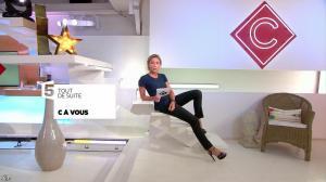 Anne-Sophie Lapix dans C à Vous - 22/06/17 - 06