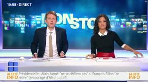 Aurélie Casse dans Non Stop - 03/03/17 - 06