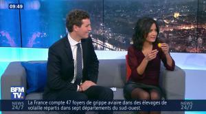 Aurélie Casse dans Week-End Première - 24/12/16 - 16