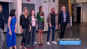 Caroline Ithurbide et Jessie Claire dans Touche pas à mon Poste - 02/06/17 - 12