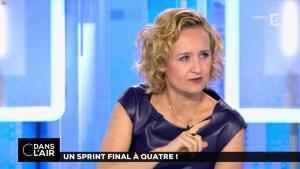 Caroline Roux dans C dans l'Air - 10/04/17 - 19
