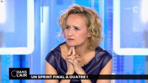 Caroline Roux dans C dans l'Air - 10/04/17 - 21