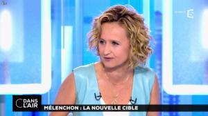 Caroline Roux dans C dans l'Air - 12/04/17 - 07