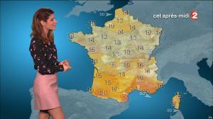 Chloé Nabedian à la Météo de Midi - 09/03/17 - 02