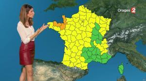 Chloé Nabedian à la Météo de Midi - 18/07/17 - 01