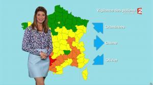 Chloé Nabedian à la Météo du Soir - 15/05/17 - 02