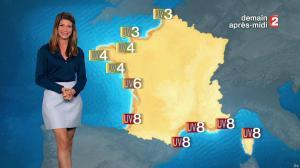 Chloé Nabedian à la Météo du Soir - 28/07/17 - 04