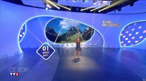 Elsa Fayer dans Euro Millions - 01/08/17 - 01