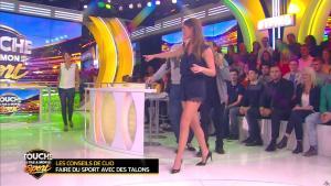 Estelle Denis et Clio Pajczer dans Touche pas à mon Sport - 03/03/16 - 02