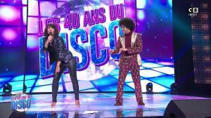 Estelle Denis dans les 40 Ans du Disco - 29/03/17 - 10