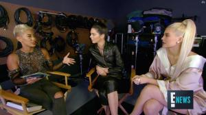 Kendall Jenner - Kylie Jenner - Interview pour E! 2016 - 07