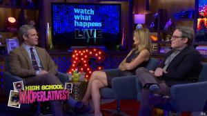 Kyra Sedgwick dans Watch What Happens Live - 28/11/16 - 03