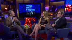 Kyra Sedgwick dans Watch What Happens Live - 28/11/16 - 04