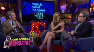 Kyra Sedgwick dans Watch What Happens Live - 28/11/16 - 06