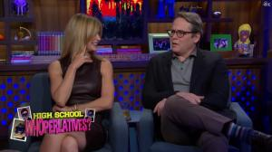 Kyra Sedgwick dans Watch What Happens Live - 28/11/16 - 10