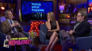 Kyra Sedgwick dans Watch What Happens Live - 28/11/16 - 11