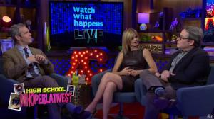 Kyra Sedgwick dans Watch What Happens Live - 28/11/16 - 12