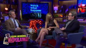 Kyra Sedgwick dans Watch What Happens Live - 28/11/16 - 15