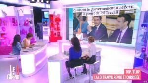 Laurence Ferrari, Hapsatou Sy, Aïda Touihri et Elisabeth Bost dans le Grand 8 - 15/03/16 - 11