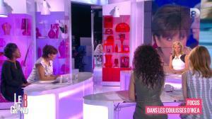 Laurence Ferrari, Hapsatou Sy, Aïda Touihri et Elisabeth Bost dans le Grand 8 - 22/04/16 - 09