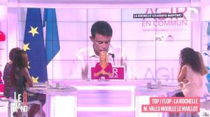 Laurence Ferrari, Hapsatou Sy et Aïda Touihri dans le Grand 8 - 31/08/15 - 21