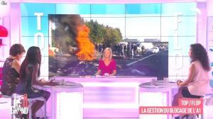 Laurence Ferrari, Hapsatou Sy et Aïda Touihri dans le Grand 8 - 31/08/15 - 31