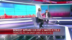Laurence Ferrari dans le Direct Ferrari - 17/01/17 - 17