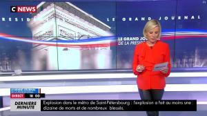 Laurence Ferrari dans le Grand Journal de la Présidentielle - 03/04/17 - 02